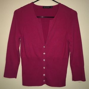 The Limited | Raspberry Cardigan